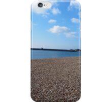 Lyme Regis, Devon,  beach under spring sun iPhone Case/Skin
