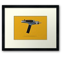 Phaser - Ray Gun Collection Framed Print
