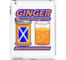 GINGER - GET IT DOON YE iPad Case/Skin