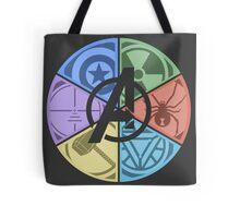 Team Avengers Assemble - Circular Tote Bag