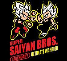 Super Saiyan Bros. by bradjordan412
