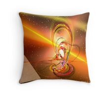 Dynamic Egyptian Throw Pillow