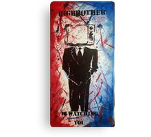 Big Brother Is Watching 02 Canvas Print