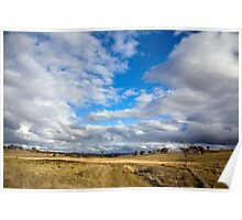 Cloudscape Poster