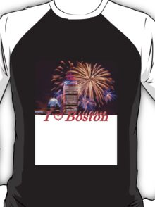 Happy Fourth of July from Boston, MA T-Shirt