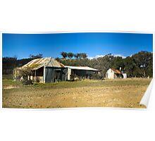 Derelict Farmhouse Poster