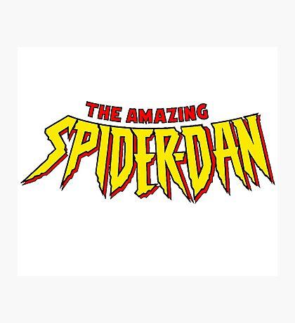 SpiderDan Photographic Print