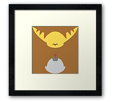 Ratchet & Clank - Minimal Design Framed Print