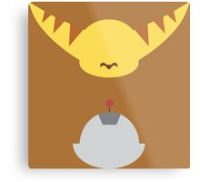 Ratchet & Clank - Minimal Design Metal Print