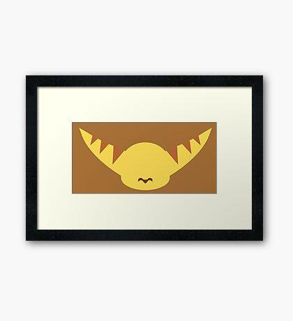 Ratchet & Clank -  Ratchet - Minimal Design Framed Print