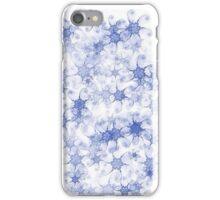"Fractal  ""Bluewhite""  One iPhone Case/Skin"