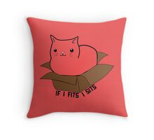 If I Fits Throw Pillow