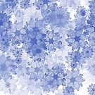 """Fractal  """"Bluewhite""""  Three by scatharis"""