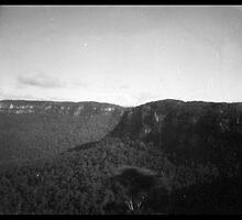 Mountains - Pinhole 4 by David Amos