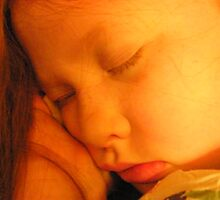 My sleeping sweet baby girl.... by DonnaMoore