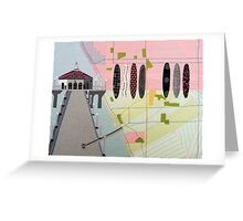 Manhattan Beach Greeting Card