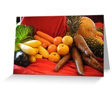 Vegetables! Greeting Card