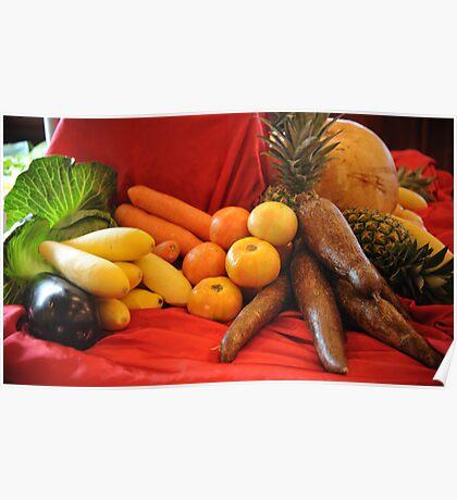 Vegetables! Poster