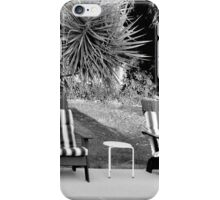 TILT SHIFT DISTORTION AND THE TWO LEGGED TABLE iPhone Case/Skin