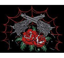 Guns & Roses Photographic Print