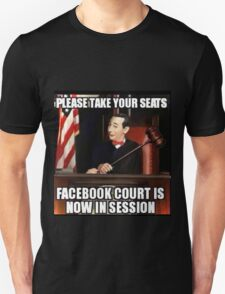 FaceBook Court T-Shirt