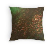 layers of color - three Throw Pillow