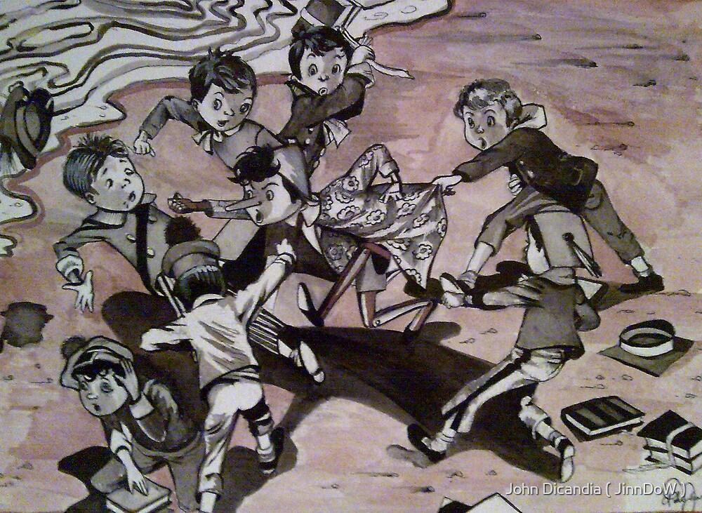 Pinocchio's Last Stand by John Dicandia  ( JinnDoW )