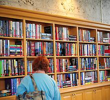 Library at Atlantis by BonnieH