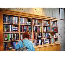 Library at Atlantis Photographic Print