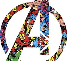 Avengers Comic Logo by heisenberg-s