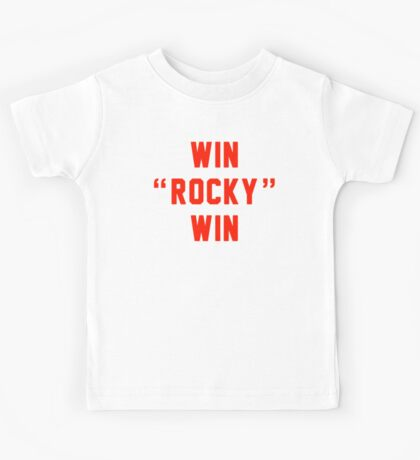 Win Rocky Win Kids Tee