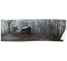Howqua Gap hut Poster