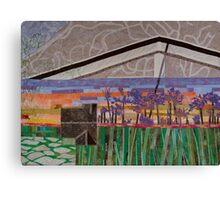 Agapanthus Sunset Canvas Print