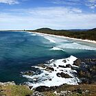 Back Beach Cabarita by Paul Manning