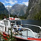 Milford Track ferry by PhotosByG