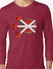 Firestorm Comic Logo Long Sleeve T-Shirt