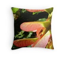 spider & seeds Throw Pillow