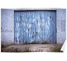 """Blue"" ~ Abandoned Seacliff Psychiatric Hospital, NZ Poster"