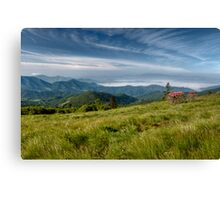 Along the Blue Ridge Canvas Print