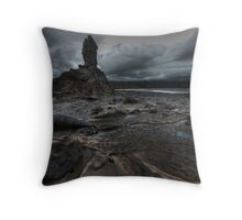 Stormy Eagles Nest Throw Pillow