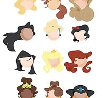 Disney Princesses  by Simone Spence