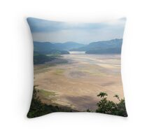 Mawddache Estuary from Barmouth Throw Pillow