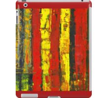 ABSTRACT UNTITLED I iPad Case/Skin