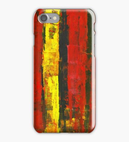 ABSTRACT UNTITLED I iPhone Case/Skin