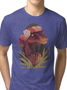 Clever Girl Tri-blend T-Shirt