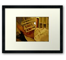 Radiant has a whole new mean :-) Framed Print