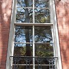 Reflections at the Mercer Williams House  by John  Kapusta