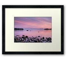 False Bay, San Juan Island Framed Print