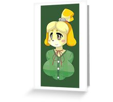 Isabelle cutie! Greeting Card