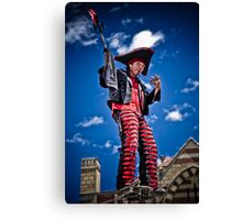 Sword Swallower Canvas Print